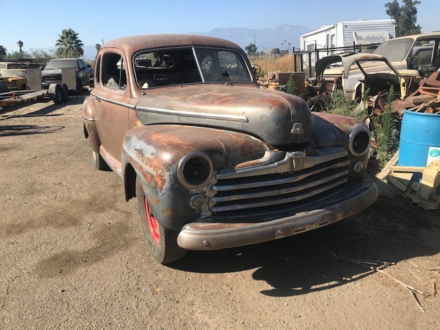 1947 FORD SUPERDELUXE COUPE V8 FLATHEAD MODEL
